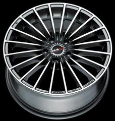 Mak  Volare Mirror Dark grey 20'' Biliris wheels
