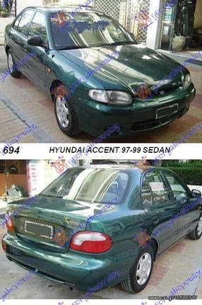 GBG 64100 22313 HYUNDAI ACCENT H B 97 99