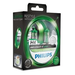 SET H4 ColorVision Green ΚΑΙΝ. PHILIPS 36787428 MITSUBISHI C...