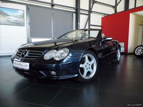 Mercedes-Benz SL 350 Look 55 AMG - FULL EXTRA '04 - 20.900 EUR (Συζητήσιμη)