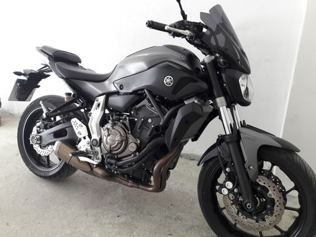 Yamaha MT-07 ABS '15 - 5.150 EUR