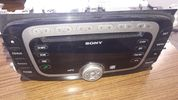 ΡΑΔΙΟ CD PLAYER FORD MONDEO - S MAX - C MAX '06+  VP6M2F18C821AE
