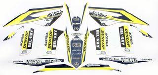 21091 Pro Team 2017 Series 3 PTS3 Graphic Kit FLU Designs Inc