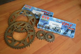 CONVERSION 520 KIT(AFAM SPROCKETS-DID ZVMX CHAIN)