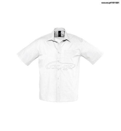 9191d9904c2a Sol s Bristol 16050 Ανδρικό πουκάμισο 65% Πολυεστέρας - 35% Βαμβάκι -  WHITE-102 Παλιά Σχεδίαση