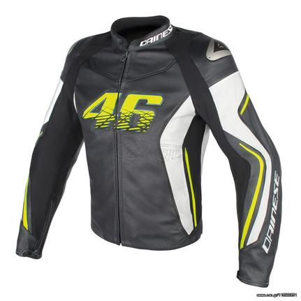 DAINESE VR46 D2 LEATHER VALENTINO ROSSI ΔΕΡΜΑΤΙΝΟ ΜΠΟΥΦΑΝ προσφορά ... 3296a173655