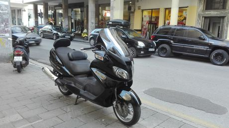 Suzuki AN 650 Burgman Ejection '08 - 4.000 EUR (Συζητήσιμη)