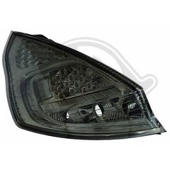FORD FIESTA ΦΑΝΑΡΙΑ ΠΙΣΩ LED BLACK / MAYPA