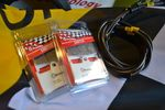BREMBO BRAKE PADS & HEL BRAKE LINES