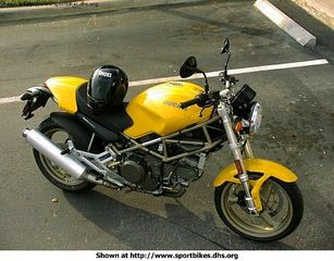 Ducati  MONSTER 600 DARK '02