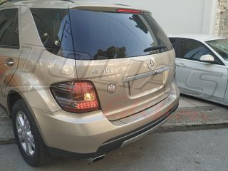MERCEDES M CLASS W164 ΦΑΝΑΡΙΑ ΠΙΣΩ LED BLACK - TINTED / ΜΑΥΡΑ -ΦΥΜΕ