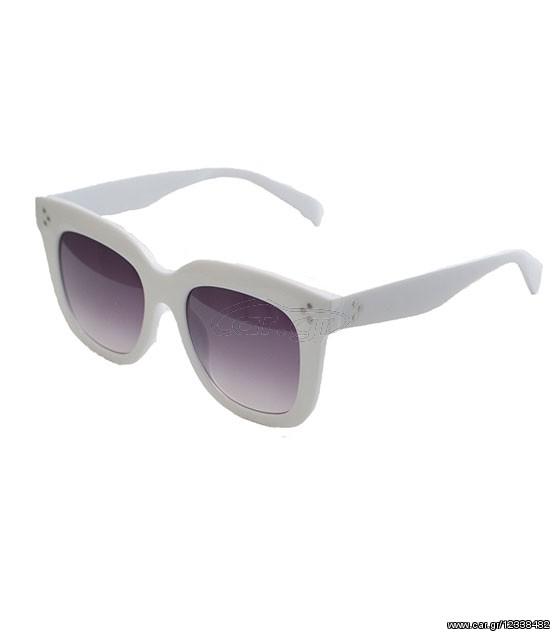 20164f918b Λευκά γυαλιά με μαύρο φακό και κοκκάλινο σκελετό - € 20 EUR - Car.gr