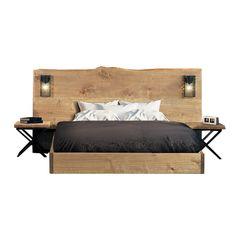 bec56e52a70 Electrik TH 4 - Κρεβάτι ξύλινο χειροποιητο Κεφαλάρι : 115 X 230 – Κρεβάτι :  168