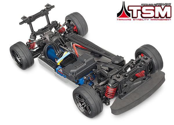 Traxxas 4-Tec 2 0 VXL 4WD TQi TSM w/o '18 - € 450 - Car gr