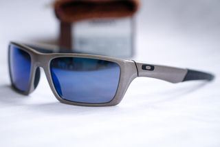 oakley JURY-4045 03 Distressed Silver - Ice Iridium metal