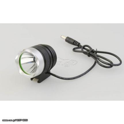 8137f8ee8b CREE LED επαναφορτιζόμενος φακός κεφαλής ποδηλάτου 860lm + βάση - ΟΕΜ 21854  Παλιά Σχεδίαση