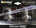 Norma H7 12V 55W Ultimate +100% Germany