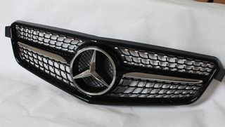 MERCEDES C-CLASS W204 BLACK DIAMOND SPORT GRILLE