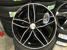 "REPLICA FOR AUDI 17"" A6 BLACK 5x112 ET35 5436"