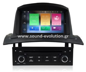 LM DIGITAL X138 Renault Megane 2 ANDROID 9/4GB RAM/8core www.sound-evolution.gr