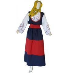 86fe77bc4b Παραδοσιακή Στολή Μανιάτισσα Εφηβική   Γυναικεία MARK776 - Χωρίς Κολιέ