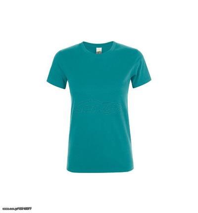 cc42f168fd22 Sol s Regent Women 01825 Γυναικείο t-shirt 100% Ringspun βαμβάκι σεμί-πενιέ  - DUCK BLUE 235 Παλιά Σχεδίαση