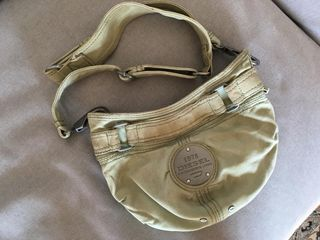 94efa51623 DIESEL handbag   shoulder bag in army green