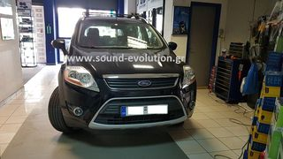 Ford Kuga OEM android 8  LM Digital J140 & & έξτρα πίσω κάμερα www.sound-evolution.gr