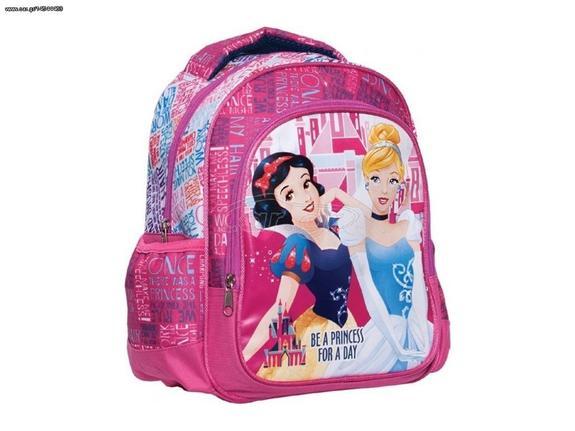 45d5db8f827 Disney Σχολική Ανατομική Τσάντα Πλάτης Σακίδιο Δημοτικού Princess - Disney Παλιά  Σχεδίαση