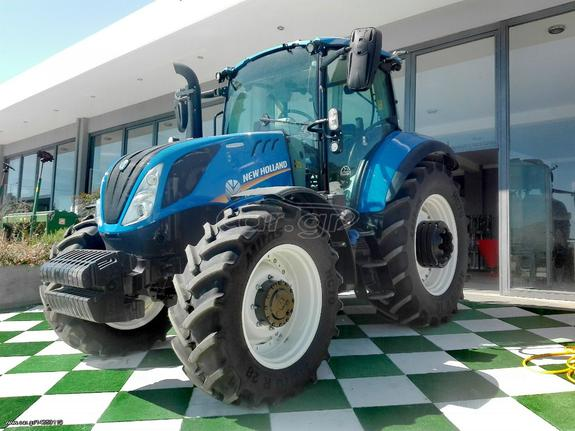 New Holland T5 100 Electro command '18 - € 1 - Car gr