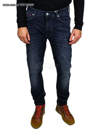0a85a842e4b Ανδρικό Tζιν Tommy Jeans Skinny Simon Jeans in Blue - € 76,30 - Car.gr