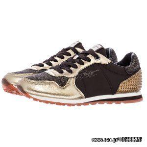 49729732161 Γυναικεία Παπούτσια Casual Verona.Winner Χρυσό ECOleather Παλιά Σχεδίαση