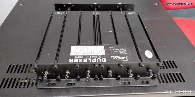 Duplexer Uhf-Uhf 50watt+Sirio WY 400-10N UHF Base Antenna - € 200 - Car gr