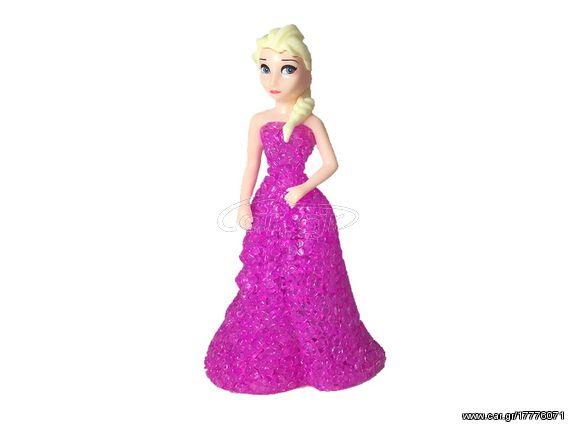 3be1a808fa5e Διακοσμητικό Φωτιστικό LED τύπου Πριγκίπισσα Έλσα Με Φούξια Φόρεμα ...