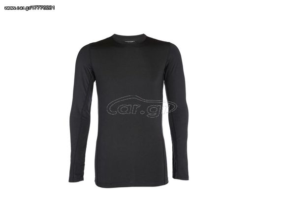 30f45d2e814 Pierre Cardin Γυναικεία Μακριμάνικη Ισοθερμική Μπλούζα σε Μαύρο χρώμα,  Black Ladies Thermo Shirt - ...