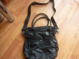 195b053862 μαύρη γυναικεία τσάντα Benneton