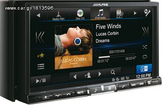 ΟΘΟΝΗ MULTIMEDIA MP3 DVD USB GPS DAB BLUETOOTH ALPINE INE-W9...