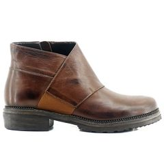Fardoulis 216 Tabac Leather Booties
