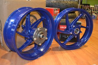 PVM 6-SPOKE WHEELS(SPECIAL BLUE COLOUR)