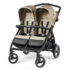 34ce9d8da2d Peg Perego book for two classico παιδικό καρότσι διδύμων class beige