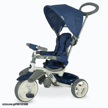fc92844b398 Smart Baby Ποδηλατάκι Τρίκυκλο Coccolle Evo Blue 337012032 Παλιά Σχεδίαση