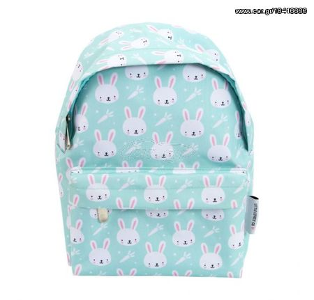 e83cea7a57b A Little Lovely Mini Παιδική Τσάντα Πλάτης Blue Rabbits BPRAMI16 Παλιά  Σχεδίαση