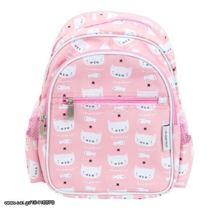 a8d5eb36d4 A Little Lovely Παιδική Τσάντα Πλάτης Pink Cats BPCAPI12 - € 25 EUR ...