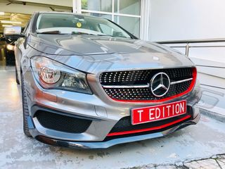 MERCEDES BENZ CLA W117 SPORT GRILLE BLACK-DIAMOND / ΜΑΣΚΑ ΠΡΟΦΥΛΑΚΤΗΡΑ