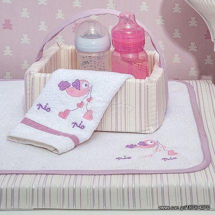 384e3f9d06d Baby oliver καλαθάκι καλλυντικών Lilac dream birds - € 30 EUR - Car.gr