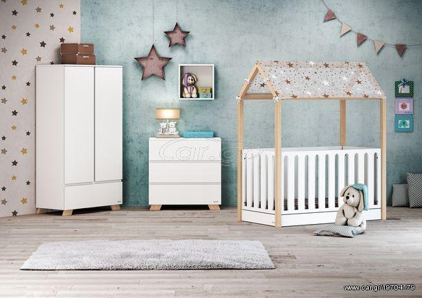 eaf091ca9b6 Casababy La Maison βρεφικό κρεβάτι μετατρεπόμενο τύπου Μοντεσσόρι Παλιά  Σχεδίαση