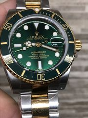 Rolex Submariner Green Gold Hulk Automatic