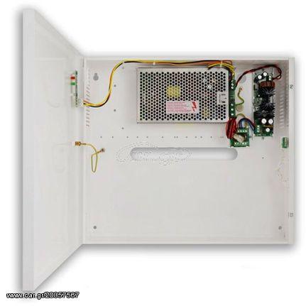 Επίτοιχο τροφοδοτικό UPS PULSAR HPSB2548C κατάλληλο για τροφοδοσία  καταγραφικών PoC της