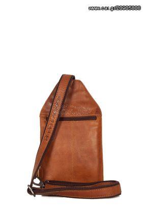 43397885f7 Hill Burry ανδρικό δερμάτινο χιαστί τσαντάκι καφέ με εξωτερική τσέπη -  vb100255-6190-br Παλιά Σχεδίαση. Previous