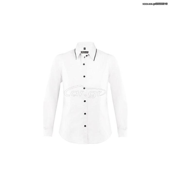 0b7d0741a115 Sol s Baxter men 00567 Ανδρικό μακρυμάνικο πουκάμισο σε στενή γραμμή -  WHITE BLACK-906 - € 37 EUR - Car.gr